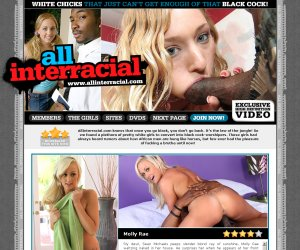 ALL INTERRACIAL - 100% Exclusive DVD-Quality Movies of the BEST INTERRACIAL PORN!