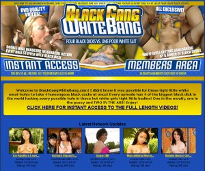 Interracial Gangbang Porn from Black Gang White Bang!