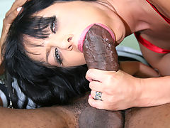 Prison guard slut fucks 2 black inmates IR
