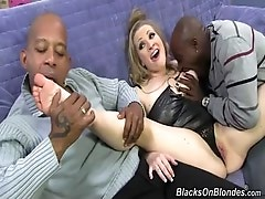 Wild interracial in sex action